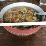 中華やあづま - 料理写真:もやしラーメン、630円。