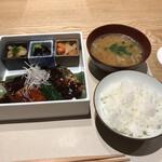 Ginzakuki - 煮ない鯖味噌(税込み1650円)
