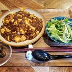 中国酒食堂en - ランチ 麻婆豆腐 750円