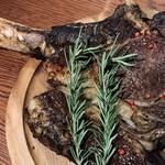 肉バル NORICHANG - 【予約制】総重量1.5kgトマホークステーキ