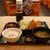 濱焼北海道 魚萬 - 料理写真:日替りのアジフライ定食