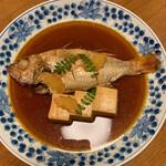 ひろしま旬彩 鶴乃や本店 - 高級魚のどぐろの煮付けです(o^^o)