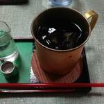 楽屋 - アイスコーヒー