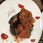 138837349 - ムール貝のトマト煮
