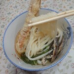 宮川製麺所 - 麺のリフトアップ