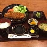 138842750 - 【黒豚ロースかつランチセット】(1000円)