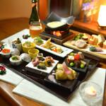神楽坂 おいしんぼ - 様々な湯葉料理も楽しめる女子会コース