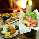 神楽坂 おいしんぼ - 和牛・鮟鱇・地鶏の選べる鍋コース