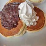 ピーパル - あずきホイップパンケーキ