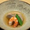 馳走 筏や - 料理写真:2020.10 海老芋と車海老の炊き合わせ