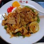 福一番 - 料理写真:とつげき丼 700円