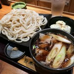Ajimen - 肉つけ汁うどん 1kg盛り
