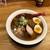 麺や 七彩 - 料理写真:200906味玉らーめん 煮干し1250円中盛り