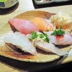 高木鮮魚店 - 旬鮮にぎり5貫