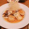 ビストロ コパン - 料理写真:2020.10.17 真鯛とアオリイカとホタテのポワレ