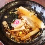 佐野ハイウェイレストラン - 料理写真:半ラーメン(550円)