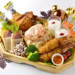 """謝謝 - 「四川飯店""""クリスマスオードブル""""」ご予約承り中。※詳細はコースページをご覧ください"""