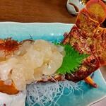 ちゅらさん亭 - 料理写真:活セミエビ