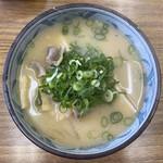 白ひげ食堂 - 豚汁ラーメン 500円