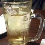 食べ放題飲み放題居酒屋 もず - ハイボールはちょっと薄め、氷少な目