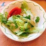 キャセロール - サラダ