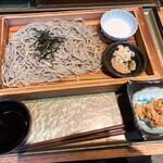 新潟 食楽園 - 小千谷のへぎそば(960円)