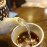 二丸屋武蔵亭 - サラサラ系ですが、汁が良いので素晴らしく美味い