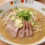 麺屋 彩未 - 味噌チャーシュー