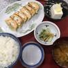 レストラン あさやホテル - 料理写真:野菜餃子定食(850円)
