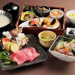 月日亭 - 大和牛味噌豆乳鍋御膳〈10.1~11.23〉