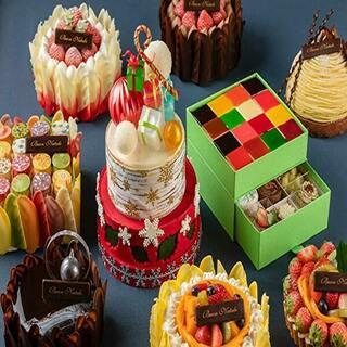 世界大会優勝のパティシエ監修ホテルのクリスマスケーキ2020