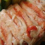 割烹 ゆう介 - せいこ蟹がギッシリでした(^^