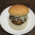 カメオカハサムコッペパン - 料理写真:亀岡牛コロッケ 260円