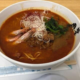 麺屋 田中商店 - 料理写真:甘海老旨辛坦々麺1210円