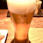 間蔵 - 生ビール(一番搾り)