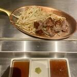 鉄板焼き 寿々の助 - ヒレステーキ