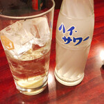加賀屋 - レモンサワー