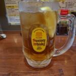 餃子のパプア - ジンジャーハイボール(辛口)