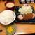 とんかつ檍 - 料理写真:200911特ひれかつ定食(200g)2000円ライス大盛り100円