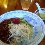 13892968 - 『ジャージャー麺 激旨辛(780円)』 当料理の5辛