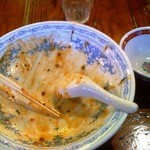 13892970 - ジャージャー麺 激旨辛 5辛 完食しました