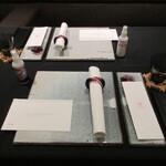 日本料理 TOBIUME - マスク置きや抗菌対策の配慮も早くから完璧