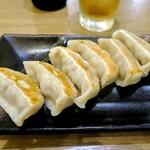 肉汁餃子のダンダダン - 焼き餃子¥506