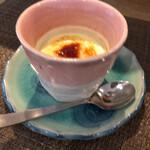 トラットリア 富の巣 - デザートのプリン