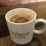 トラットリア 富の巣 - コーヒー