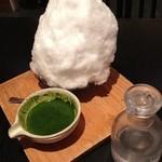 13893729 - 濃茶のかき氷