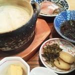 ふるけん 弐乃丸 - 湯豆腐