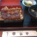山中川魚料理 - うな重 並 @2100