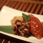 コイブミ - 前菜 うなぎの煮こごり