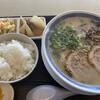 博多 豚十郎 - 料理写真:塩豚骨定食